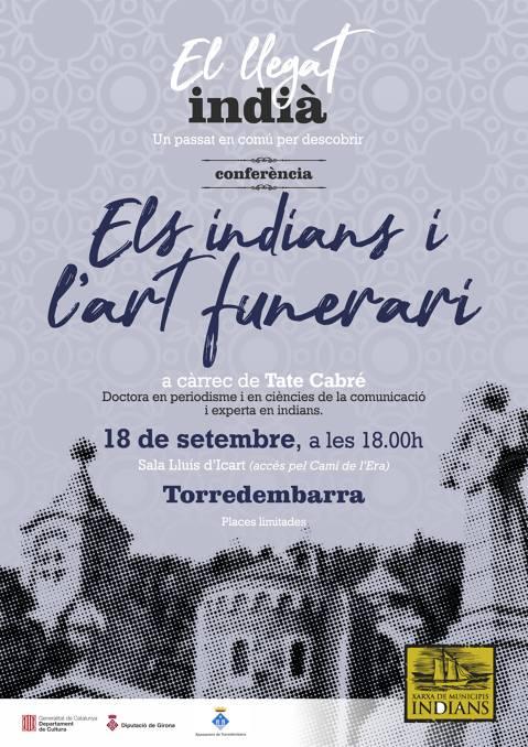 Conferència Els Indians i l'art funerari